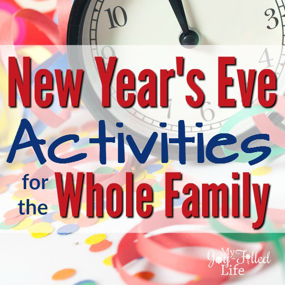 New Year's Eve Activities for the Whole Family